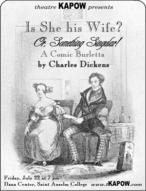 Is She His Wife? by Charles Dickens