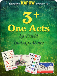 3+ One Acts by David Lindsay-Abaire