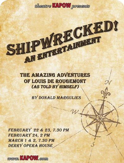 Shipwrecked! by Donald Margulies