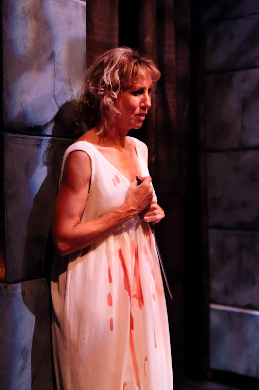 Gail Angellis as Clytemnestra in Agamemnon